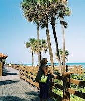 Wooden Boardwalk, 23rd Street to 47th Street, Miami Beach
