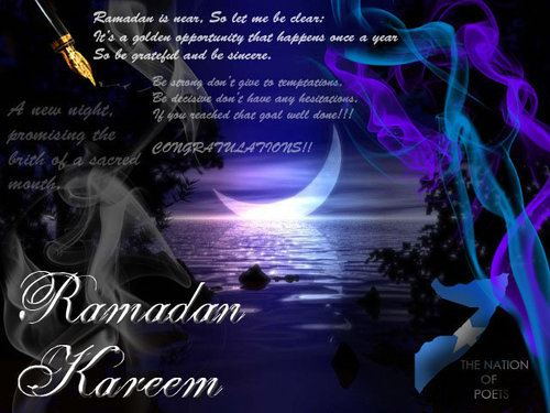 Beautiful Picture And Ramadan Poem In English For Free