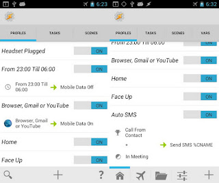 Tasker 4.5u1 screenshot