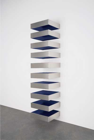 Sculpture say what morris judd fried for Minimalisme art