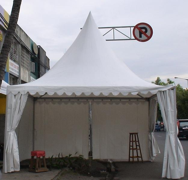 Bentuk Tenda Sarnafil