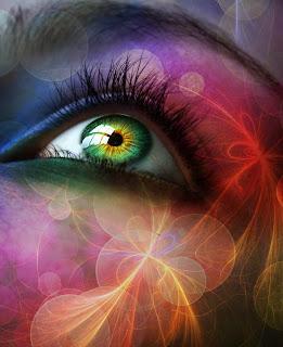 ojos de fantasia