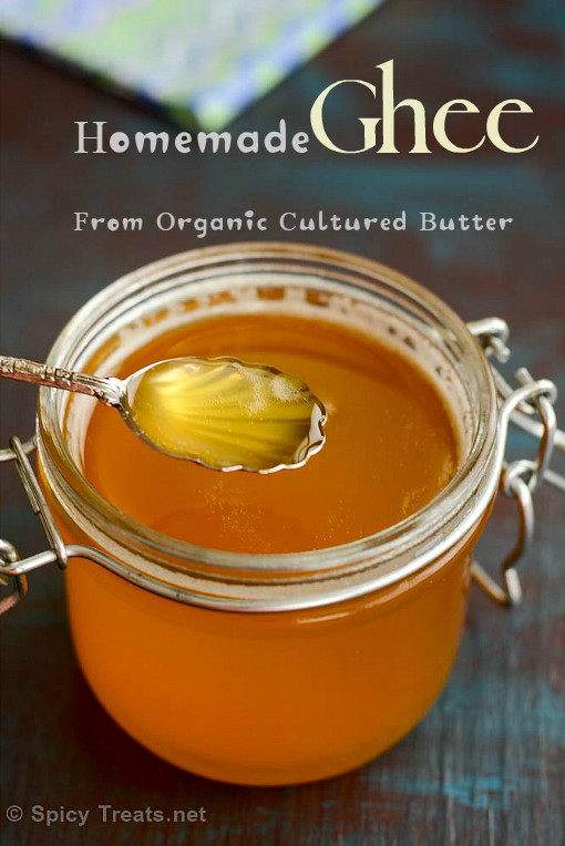 homemade ghee | how to make ghee at home | homemade ghee from cultured butter | diy clarified butter at home