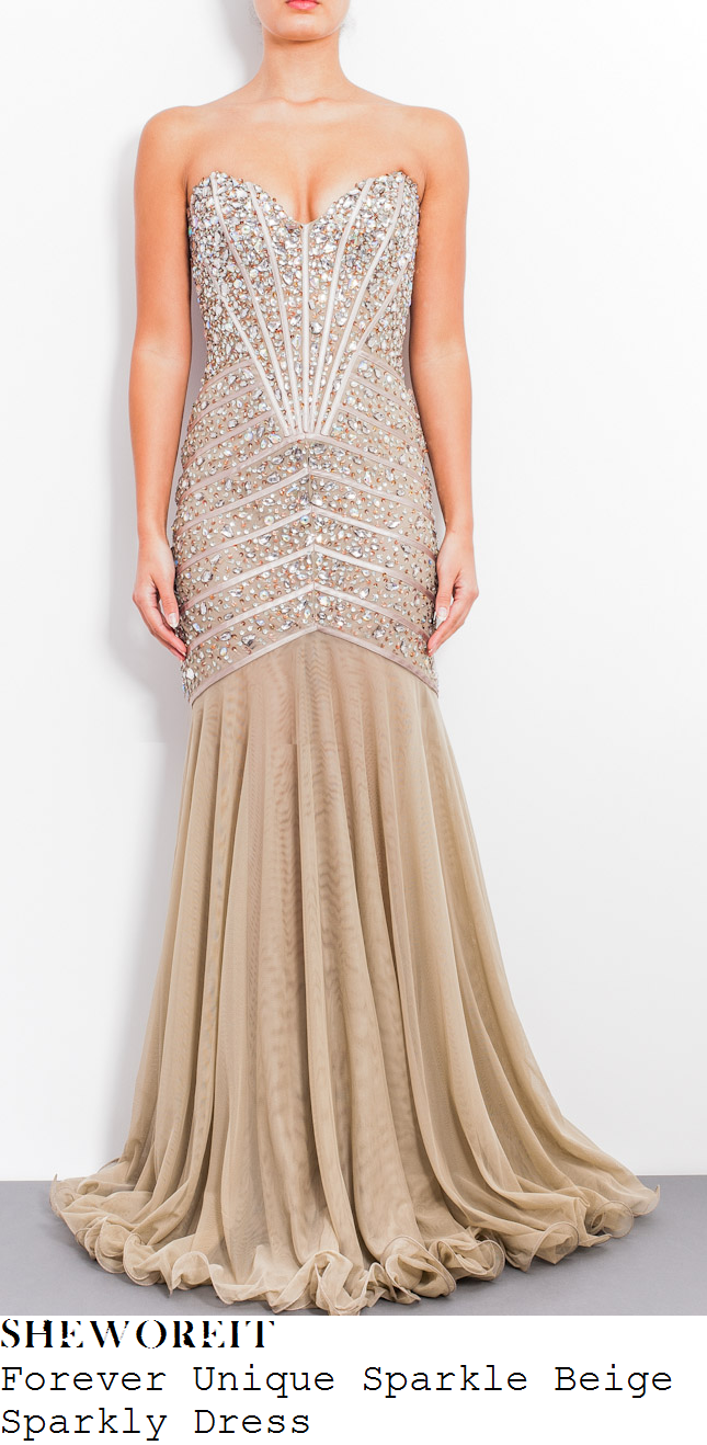 lucy-mecklenburgh-nude-beige-crystal-jewel-embellished-sweetheart-neckline-maxi-dress-towie