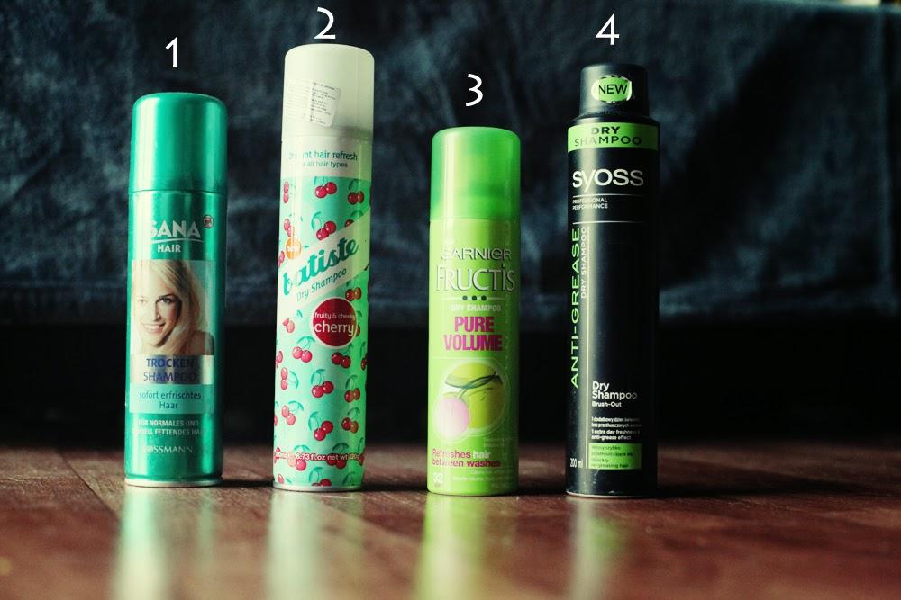 Który suchy szampon wybrać – Isana, Batiste, Garnier, Syoss suchy szapompon suche szampony