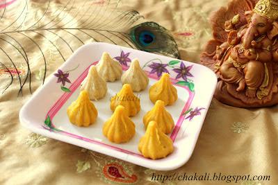 talalele modak, moduk recipe, Ganeshji prasad, sweets, Ganpati prasad fried modak