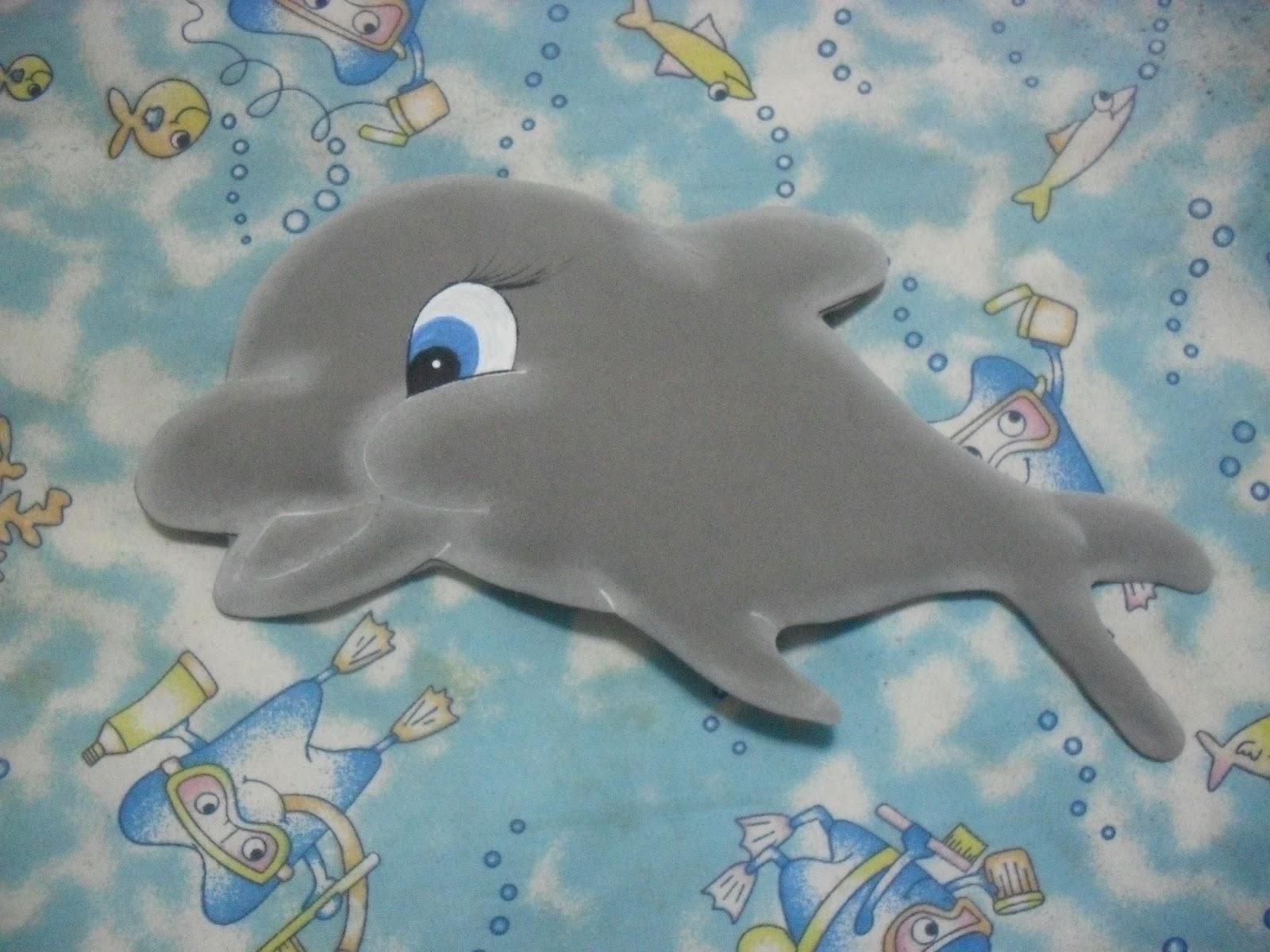 Moldes de delfines en foami - Imagui