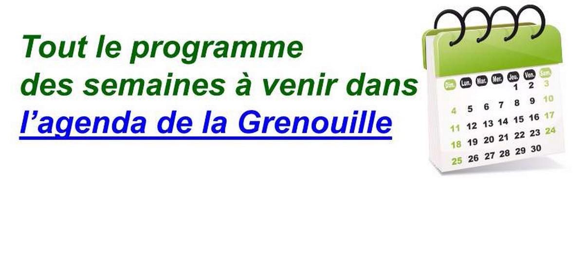 L'Agenda de La Grenouille