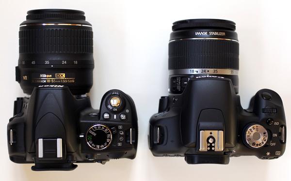 Canon Borneo Nikon D3100 Vs Canon 1100D