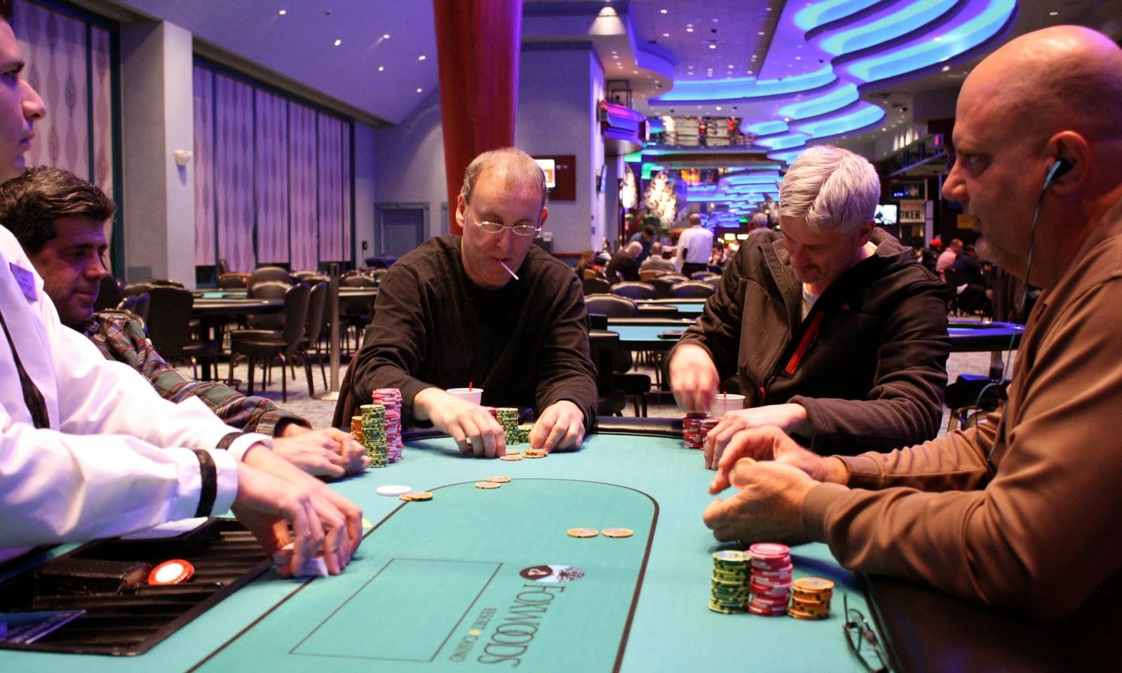 foxwoods poker bad beat
