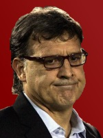 Gerardo 'Tata' Martino, coach of FC Barcelona