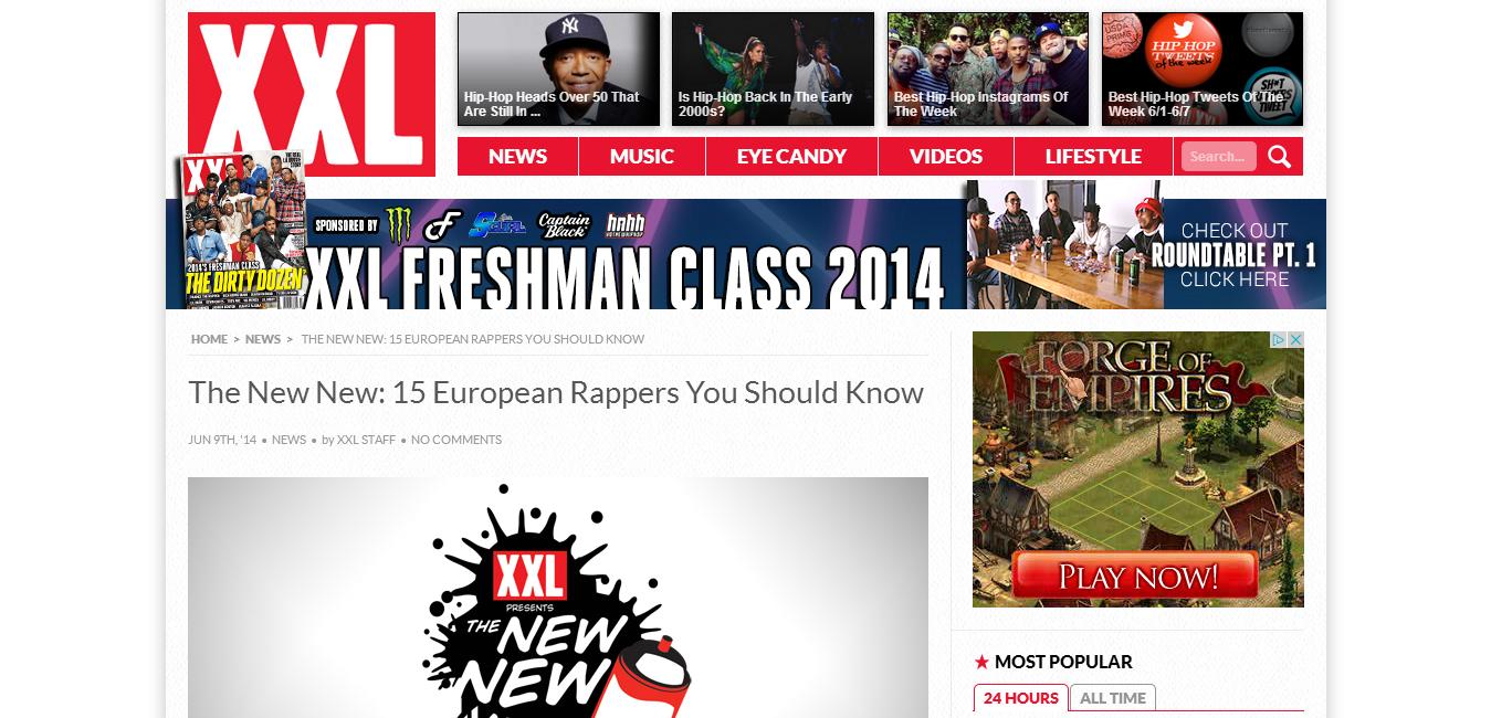 e4d62f3f3d Joseph  JP  Patterson  XXL  The New New  15 European Rappers You ...