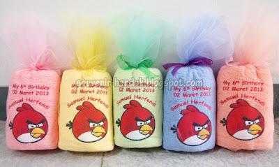 Souvenir Ulang Tahun Angry Bird - Samuel