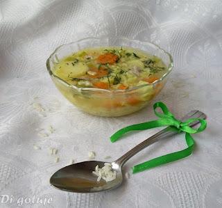 Ryżanka (rosół z ryżem)