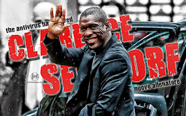 Translations of Clarence Seedorf in his first role as Manager of AC Milan.