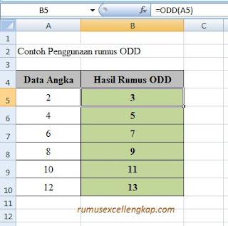 contoh data rumus ODD