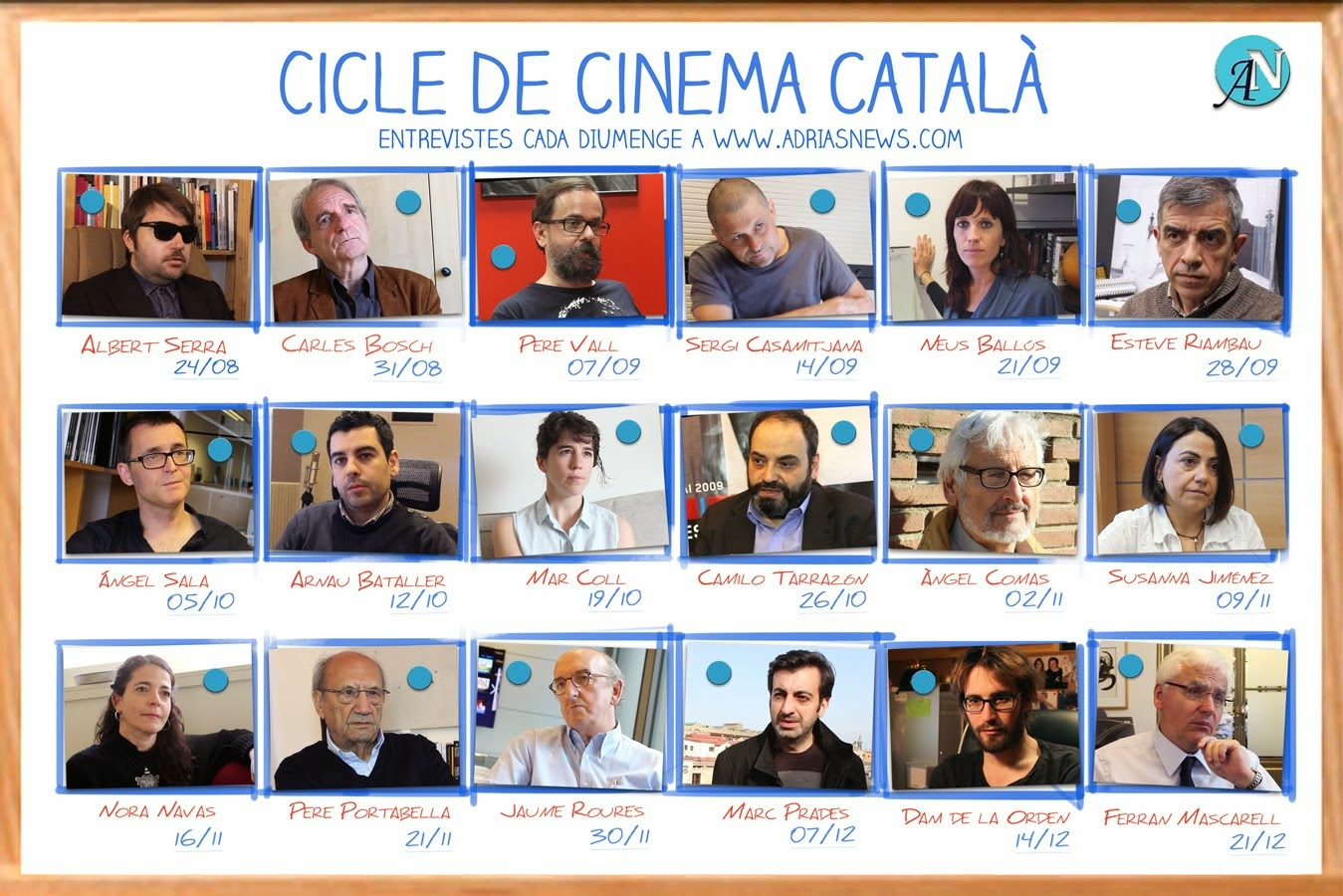 Adria's News amb el cinema català.