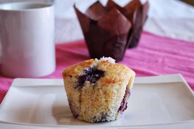Receta muffins de arándanos_Muffins de arándanos