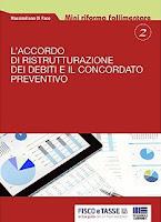 L'accordo di ristrutturazione dei debiti e il concordato preventivo