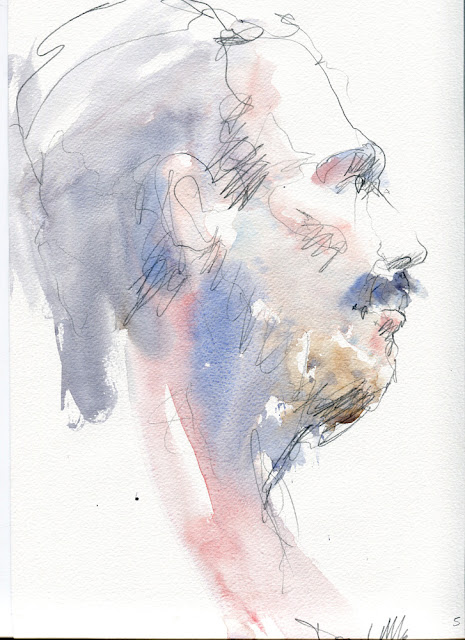 Watercolour sketch by David Meldrum