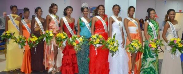 Miss World Monde Guadeloupe 2012 winner Brigitte Ramassamy Golabkan
