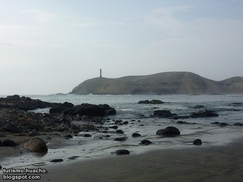 Playa La Isla de Puerto Supe