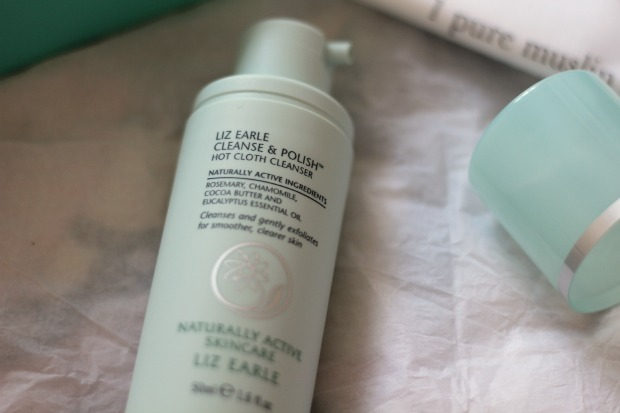 beauty, cleanse and polish, hot cloth cleanser, liz earle, review, skincare, test,