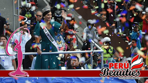 Pia Wurtzbach, Miss Universo 2015 regresa a casa