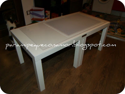 Para mi peque con amor mesa de luz tutorial para hacerla - Ikea mesas trabajo ...