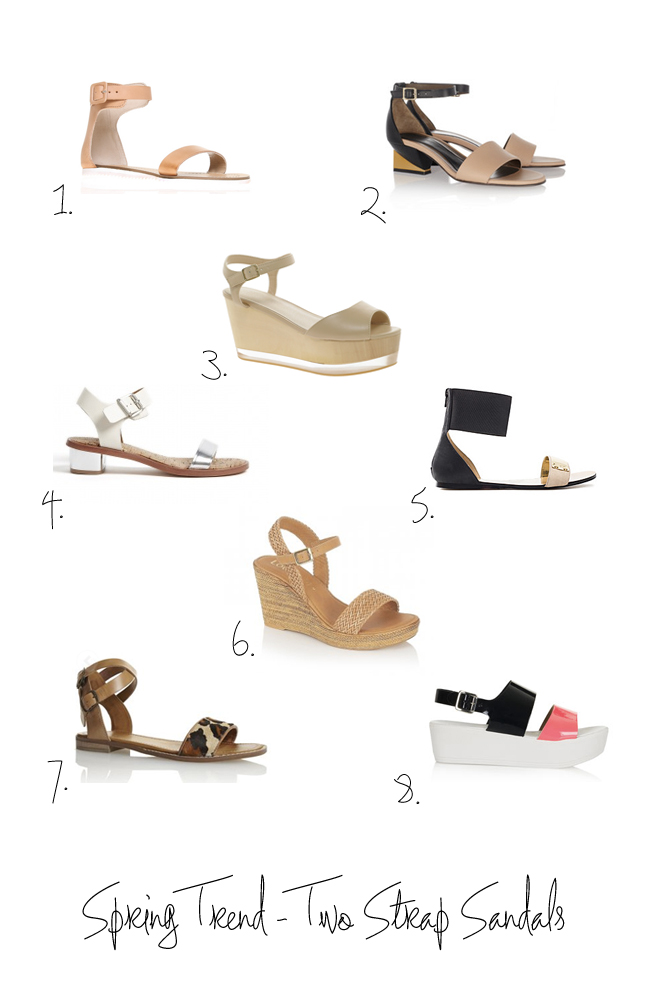 Stylonylon - Spring/Summer Trend Edit - Two Strap Sandals