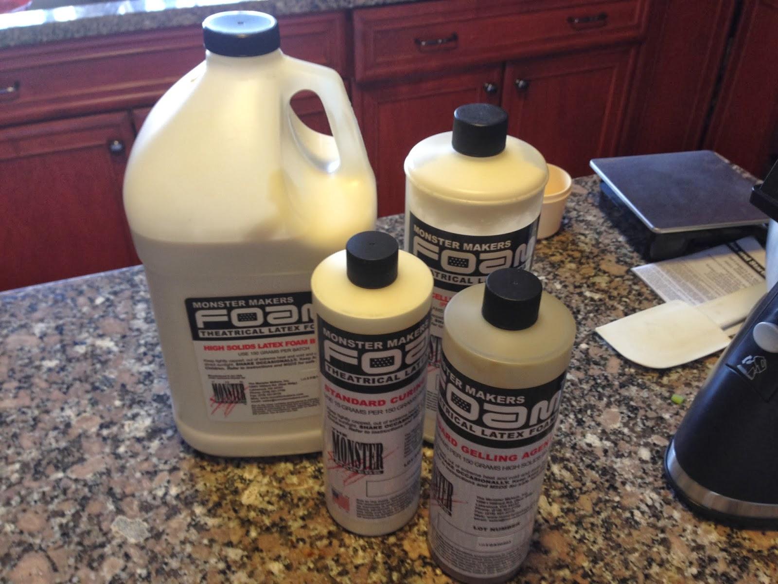 GM Foam, hot foam latex kits