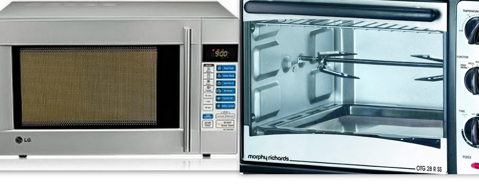 Cakes & More: Compare A Convection Microwave & An Oven Toaster ...