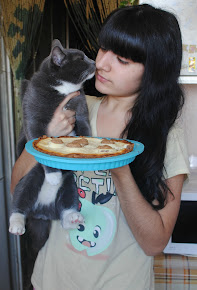 Кот и пирог =)