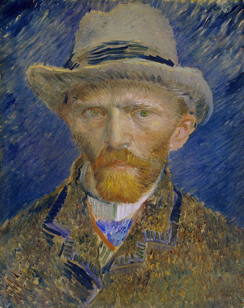 art artists vincent van gogh self portraits