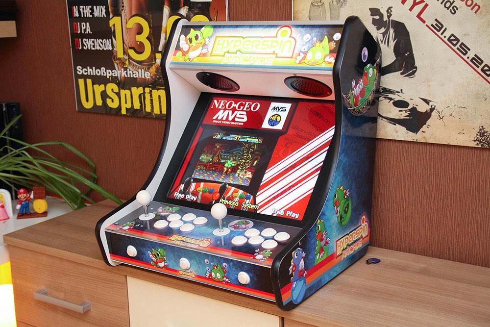 Arcade and Video Game Modding: Apes Bartop revisited - Assembling PC MAME parts in ArcadeForge ...