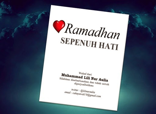 Ramadhan Sepenuh Hati