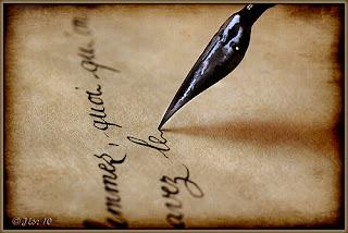 écriture cursive ancienne