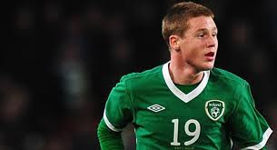 James Mc Carthy played well for Ireland