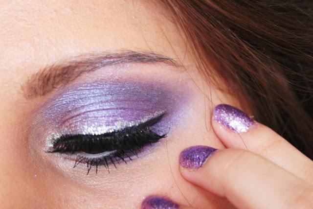 glittery-smokey-eye