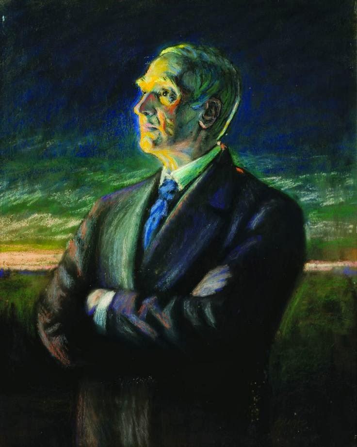 Ants Laikmaa, pastellmaal, pastel painting