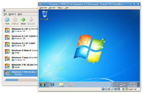 Oracle VM VirtualBox pada windows