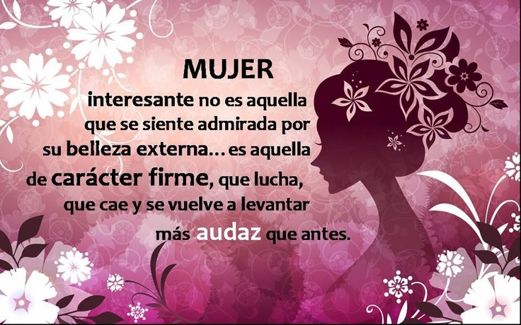 Frases de Mujer,