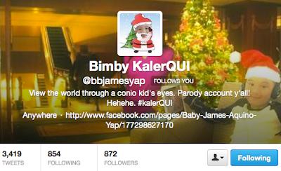 twitter parody account