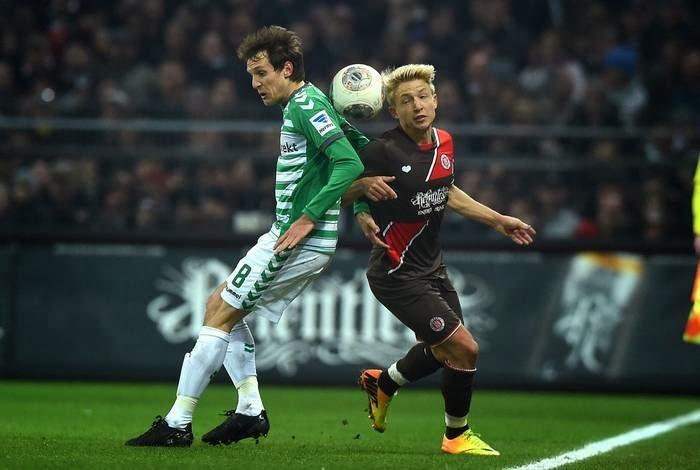 FC St. Pauli 2:2  SpVgg Greuther Fürth