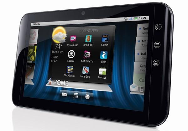 dell 10 inch windows 7 tablet gadgetonix. Black Bedroom Furniture Sets. Home Design Ideas
