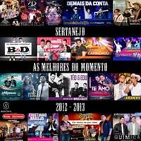 CD Sertanejo 2012 e 2013 As Melhores do Momento