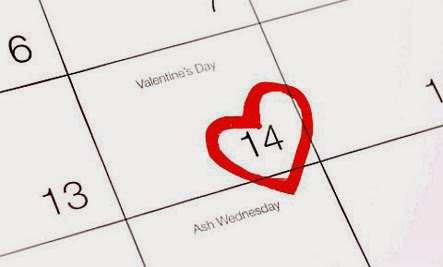 How To Survive Valentine's Day When You're Single - calendar 14 February