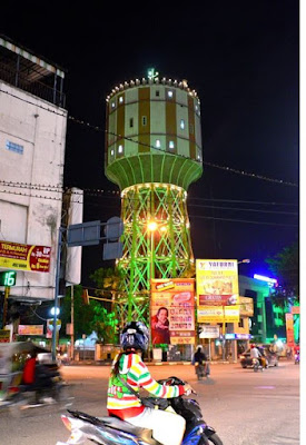 Tirtanadi Water Tower Tourist Places in North Sumatra