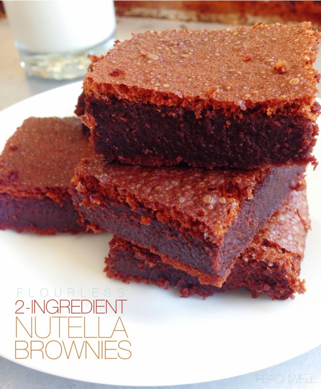 2-INGREDIENT BROWNIES