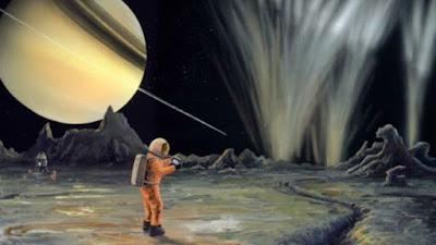 A lua com gêiseres de vapor que pode ter a melhor condição para vida depois da Terra